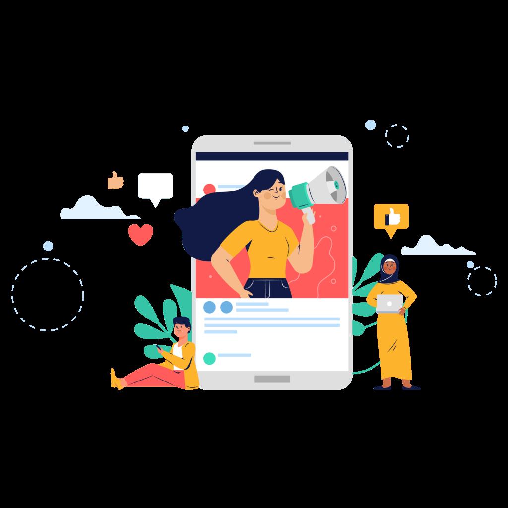Digitechs Media social media marketing services images
